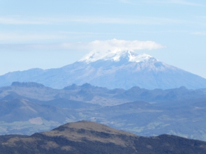 vue depuis le volcan Puracé