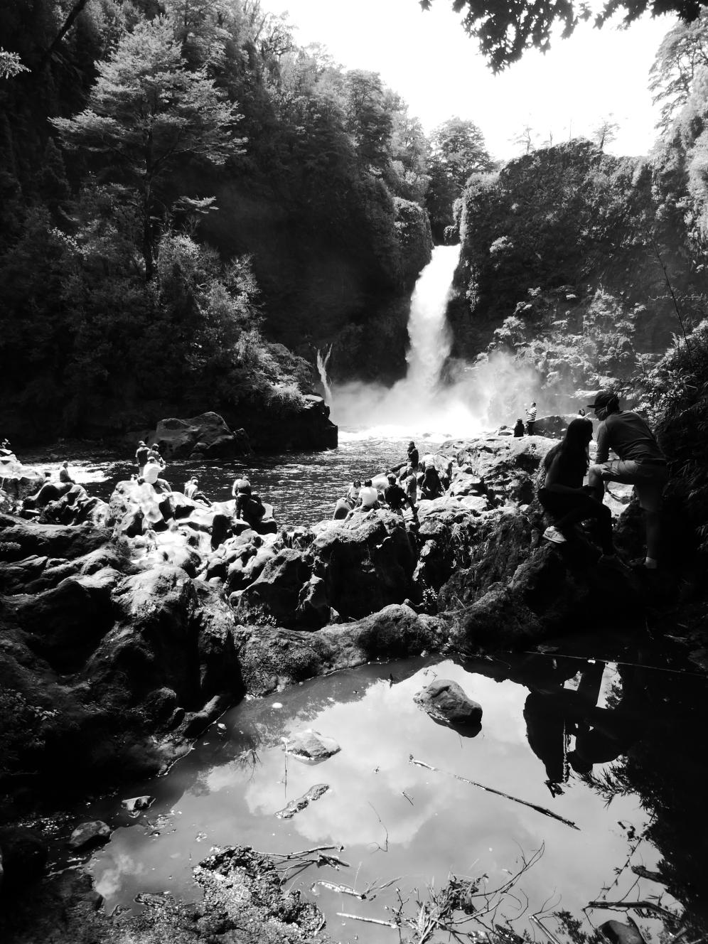 Salto de Huilo Huilo, Chile